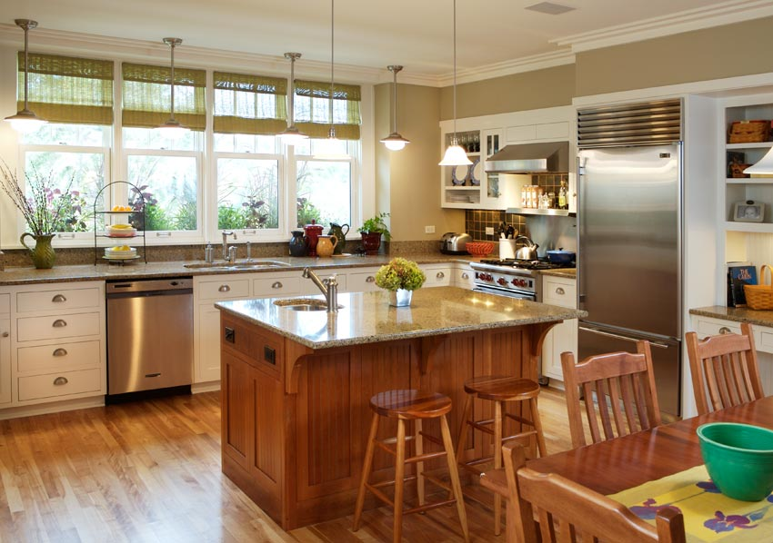 Aune/Miller Residence: A light and airy kitchen