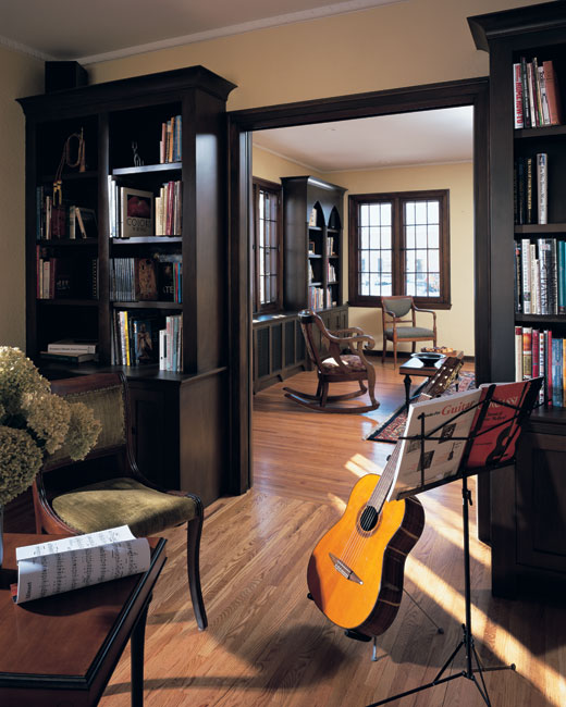 Ruebeck renovation timothy fuller architects for Violin decorating ideas