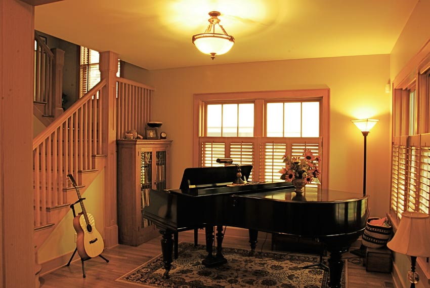 Habeck/Steen Residence: The music room