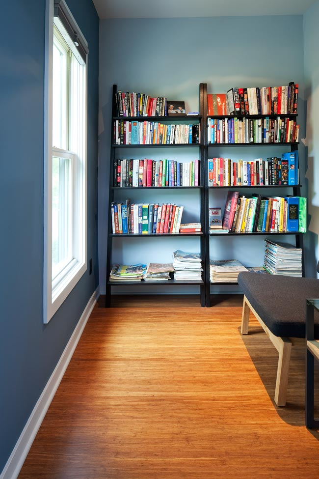 McBoal St. Apartments: The reading nook