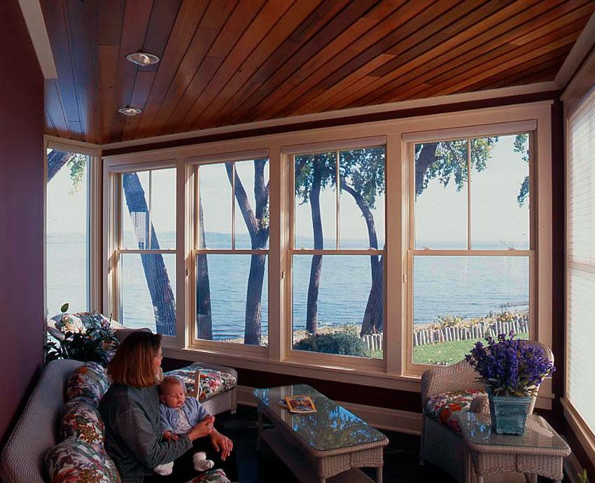 Sommers/Erickson Lake Home: Inside the Sunroom