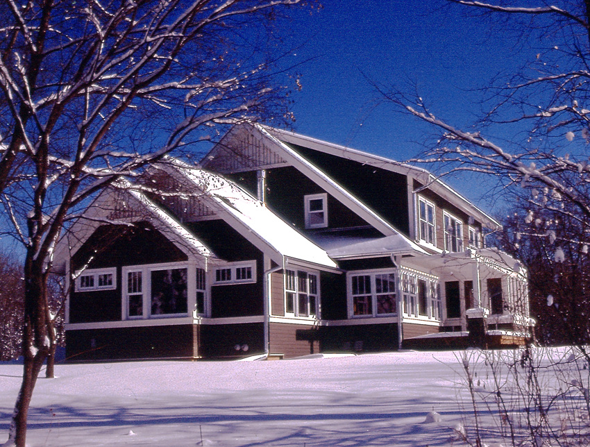 Waldron Residence: Winter Scene